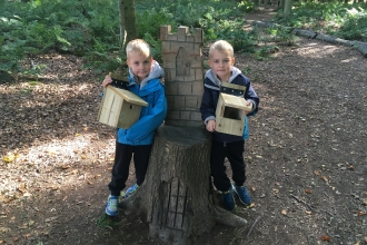 Our Wildlife 2018 bird boxes - Karen Statham