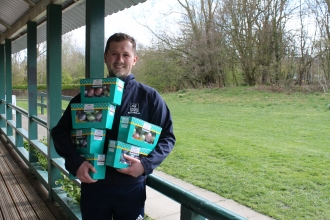 Tesco Express Easter egg donation