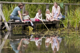 Pond dipping - Ross Hoddinott/2020VISION