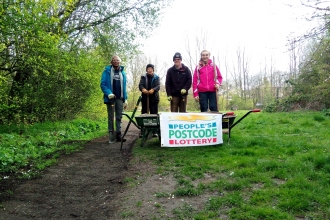 St Nicholas path volunteers - Duncan Hoyle