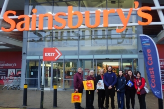 Coast Care Sainsbury's Alnwick - Becky Bass