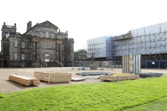 HPR work at Seaton Delaval Hall - Steve Upton
